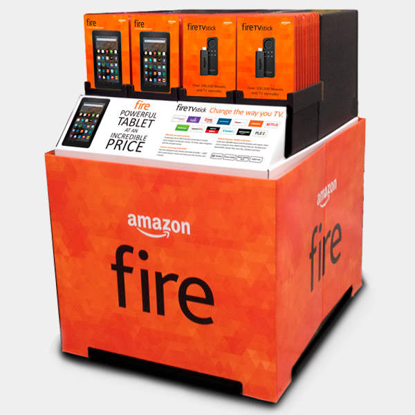 Amazon fire display